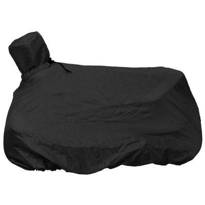 Tough-1® Nylon Western Saddle Cover/Tote BLACK