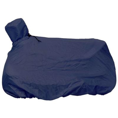 Tough-1® Nylon Western Saddle Cover/Tote BLUE