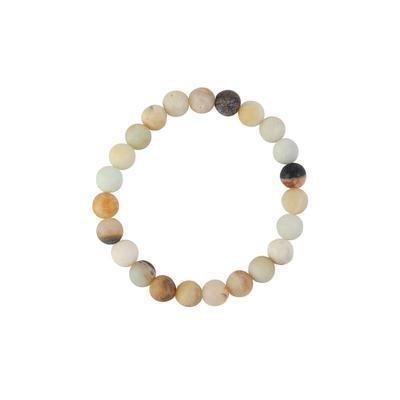 Amazonite Large Beads Bracelet