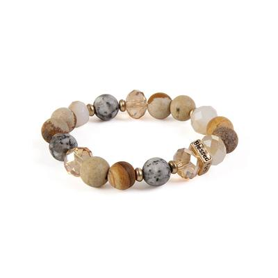 Amazonite Faith Bracelets TAN