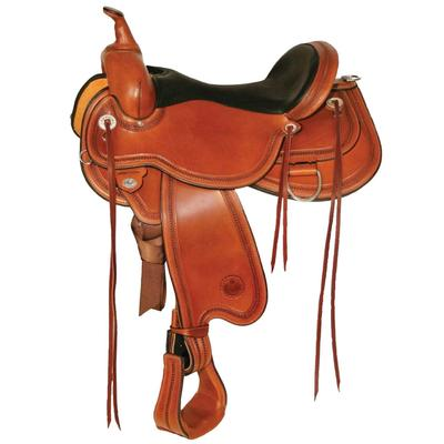 Circle Y Pioneer Flex2® Trail Saddle 16