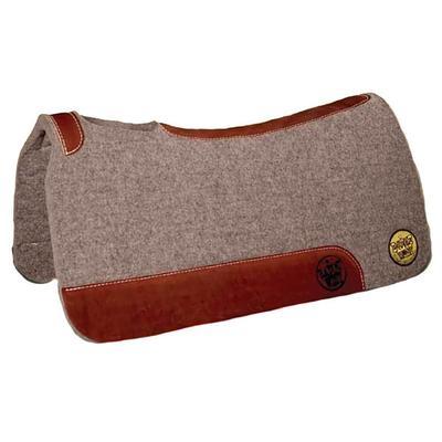 Bayou West 100 % Wool Contour Pad, Grey