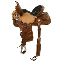 Reinsman by Circle Y Molly Powell Flex Fit Barrel Saddle 14.5