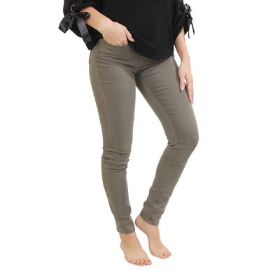 Esqualo Women's Army Green Skinny Jeans