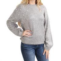 Esqualo Women's Boxy Pearl Sweater