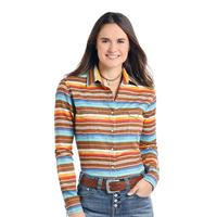 Panhandle Slim Women's Serape Print Rough Stock Shirt