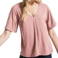 Z Supply Women's The Faux Suede Flutter Top