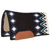 Mustang Mfg. New Zealand Wool Felt Aztec Saddle Pad