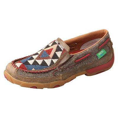Twisted X Women's Triangle Pattern Slip-On Shoes