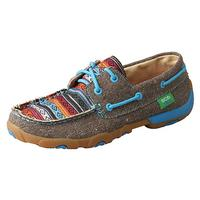 Twisted X Women's Serape Lace Up Shoes