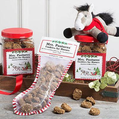Mrs. Pastures® Cookies for Horses Christmas Stocking