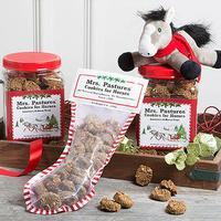 Mrs. Pastures® Cookies for Horses Christmas Cookie Jar