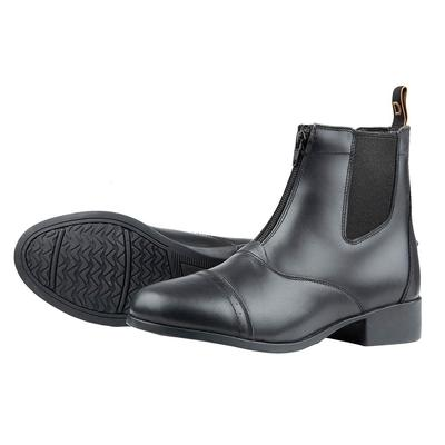 Dublin Foundation Zip Paddock Boot Ladies Size 7.5, Black