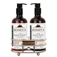 Beekman's Honey and Orange Blossom Hand Care Caddy Set