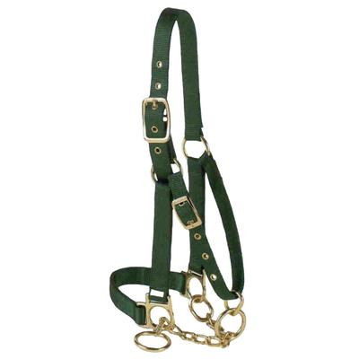 Valhoma Adjustable Yearling Cattle Halter with Chain