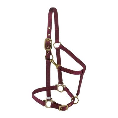 Valhoma Premium Adjustable Chin Arabian Size Halter