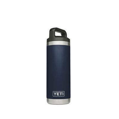YETI Navy Rambler 18 oz Bottle