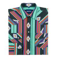 Men's Resistol Clint Aztec Snap Shirt