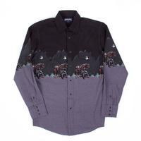 Men's Panhandle Horse & Cowboy Snap Shirt