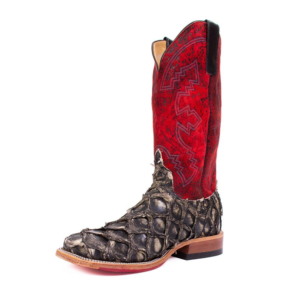 c45bc9b6a35 Anderson Bean Men's Red Big Bass Boots