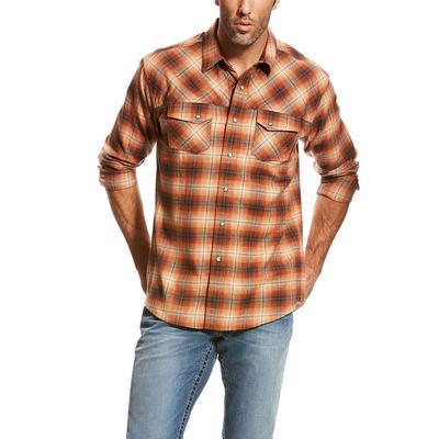 Ariat Men's Flannel Wade Retro Shirt