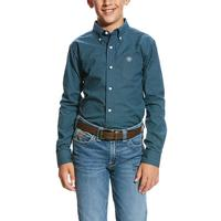 Ariat Boy's Pro Series Vicini Print Shirt