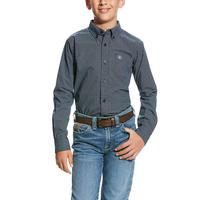 Ariat Boy's Valdera Print Button Down Shirt