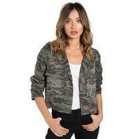 Bella Dahl Women's Crop Military Jacket