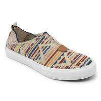 Blowfish Women's Cream Mosaic Weave Munky Shoe