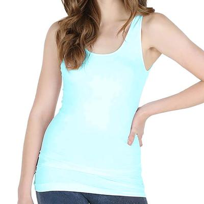 Nikibiki Women's Plain Jersey Tank Top