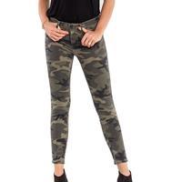 Miss Me Women's When Duty Calls Ankle Skinny Jean