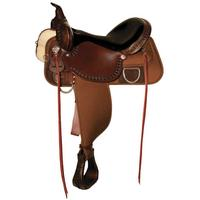 High Horse by Circle Y Magnolia Cordura Trail Saddle 17