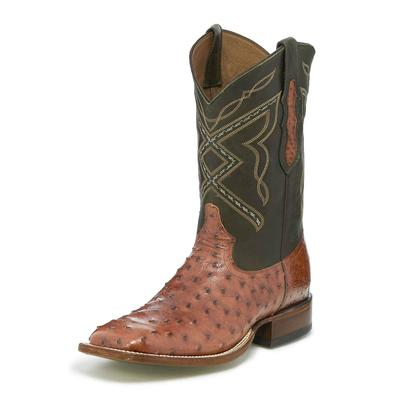 Tony Lama Men's Lemuel Hunter Green Ostrich Boots