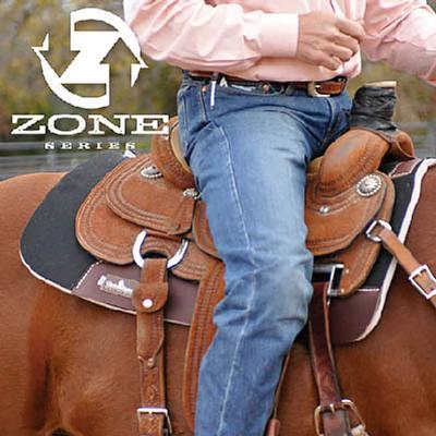 Classic Equine Zone Series Felt Zoombang Pad - Black