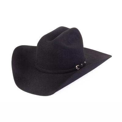 D&D Texas Outfitters Black 3X Low Rodeo Felt Hat
