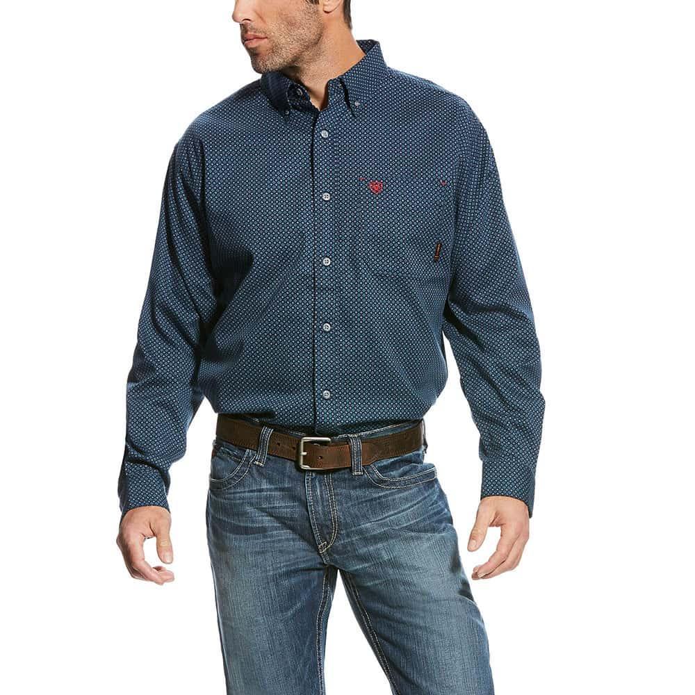 3029f8a8bafb Ariat Men s FR Durango Print Work Shirt