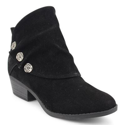 Blowfish Women's Black Fawn Singe Ankle Boot