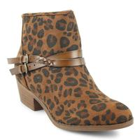 Blowfish Women's Leopard San Fran-B Ankle Boot