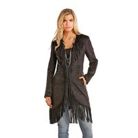 Powder River Outfitters Women's Suede Fringe Jacket