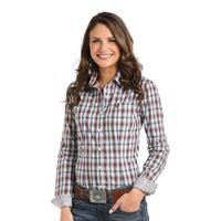 Panhandle Slim Women's Clarendon Vintage Ombre Plaid