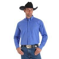 Wrangler Men's Blue George Strait Shirt