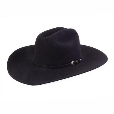 D&D Texas Outfitters Black 5X Roper Felt Hat