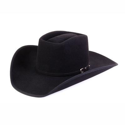 D&D Texas Outfitters Black 3X Vegas Felt Hat