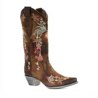 Corral Women's Lindsey Embroidered Lamb Boots
