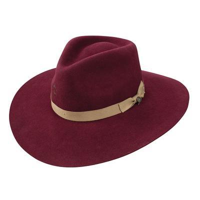 Charlie 1 Horse Women's Burgundy Highway Felt Hat