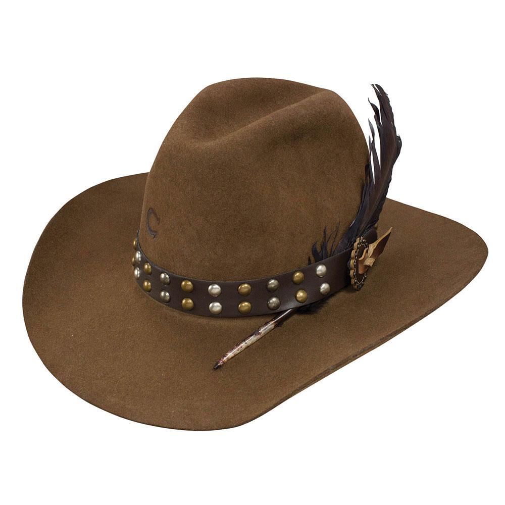ae8fb90d9cf Charlie 1 Horse Women s Acorn Salty Broad Felt Hat Item   CWSLTB-213411