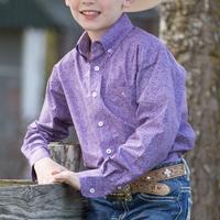 Resistol Boys Coolidge Button Shirt