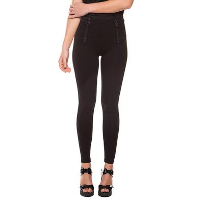 Black Tape Women's Exposed Zippers Leggings