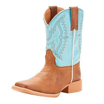 Ariat Kids ' Bristo Blue Cowpoke Boots