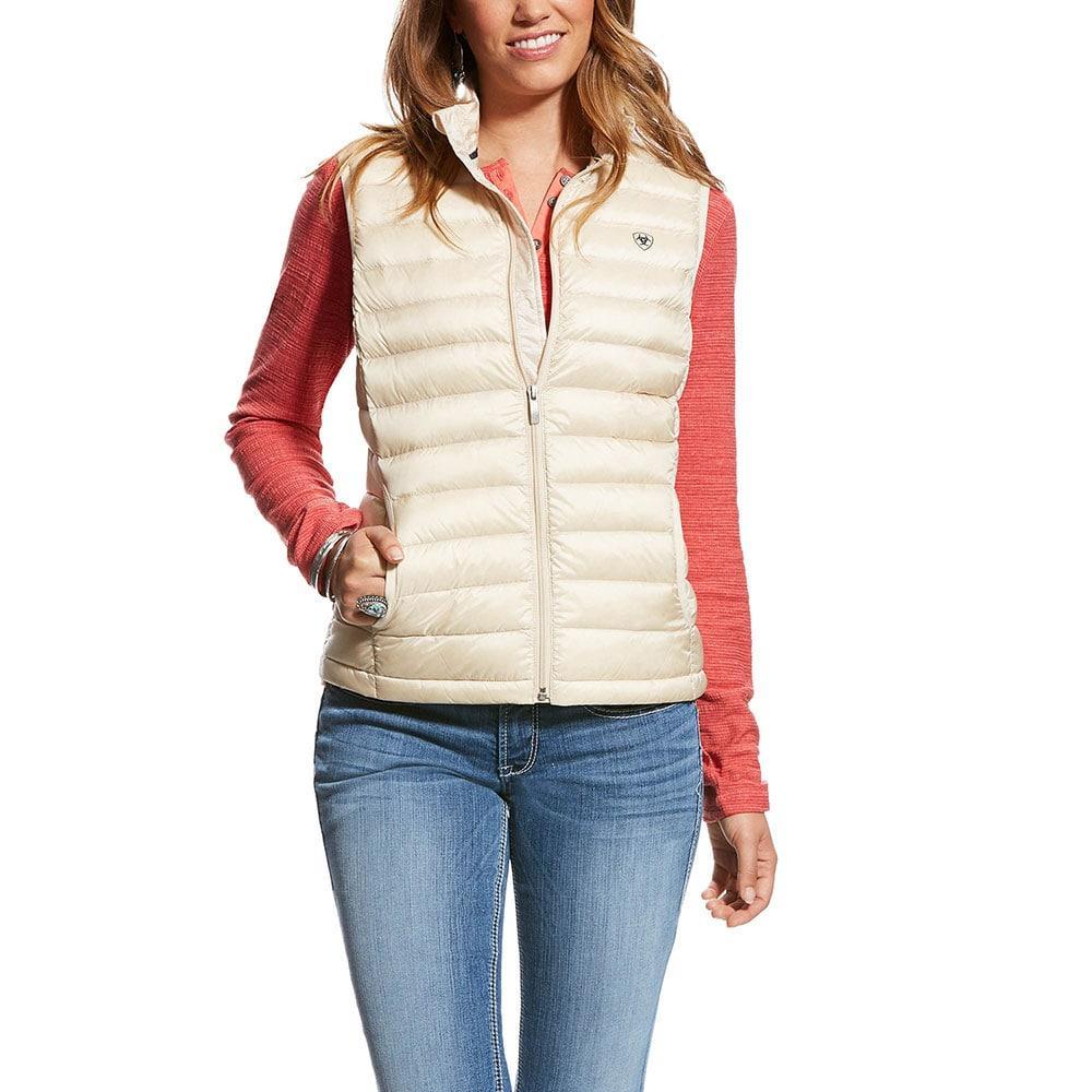 a4046287750 Ariat Women's Canvas Ideal Down Vest